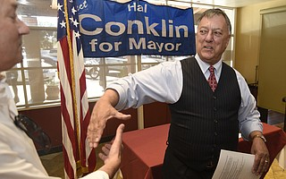 Mayoral candidate Hal Conklin