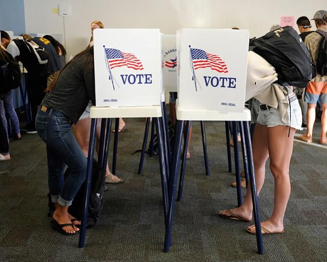 Isla Vista voters on November 9th, 2016