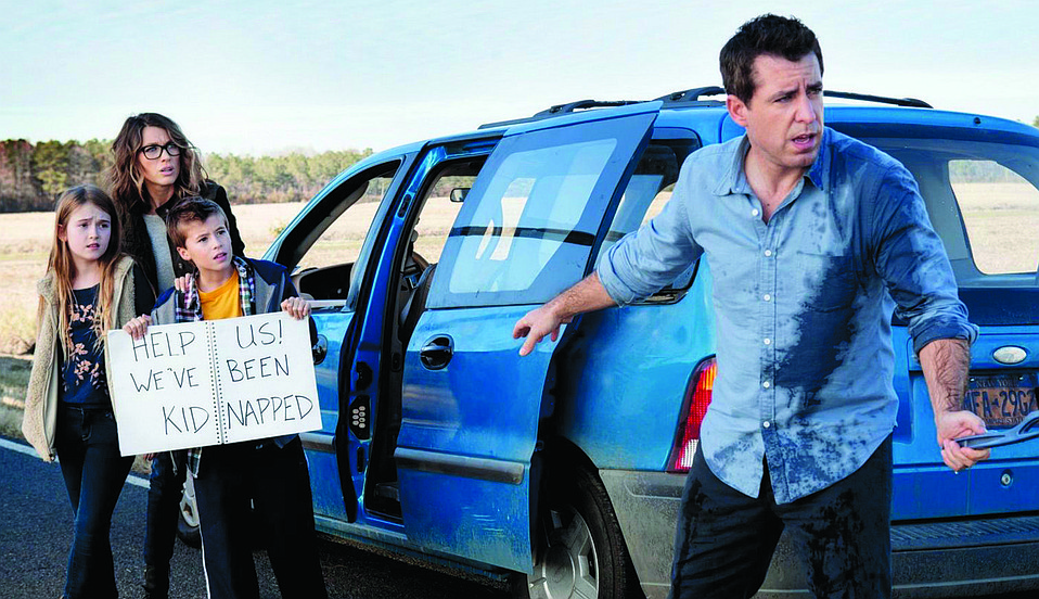 Jason Jones stars in TBS's 'The Detour.'