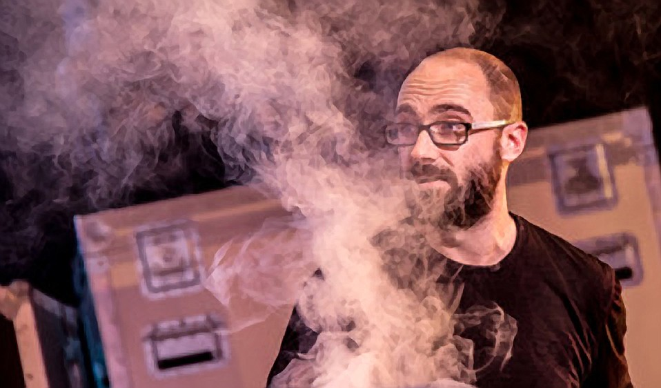 Cohost Michael Stevens says his and Adam Savage's exciting experiments will give a glimpse at invisible forces and fluid dynamics.