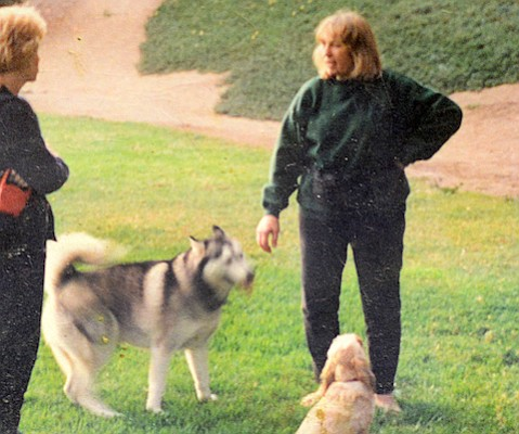 Maureen Lance, who helped make Tabano Hollow a dog-friendly playground, was renowned for her ability to nurse wild birds.