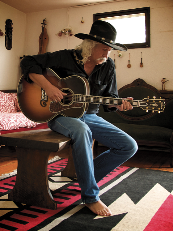 Ever since the late '60s, Arlo Guthrie, now 69, has carried on his family's folk music legacies.