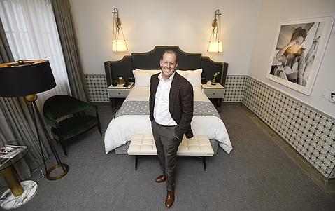 Hotel owner Michael Rosenfeld