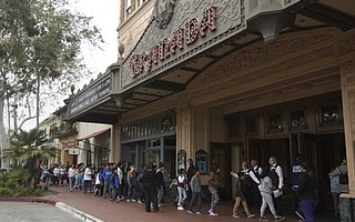 Students from about 20 Santa Barbara schools crowded the Granada Theatre on Friday morning for a special performance of State Street Ballet's <em>Cinderella</em>.