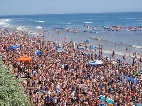 Floatopia 2009 grew and grew and grew out of control compared to earlier incarnations due to social media promotion. To avoid a repeat, the county closes Isla Vista beaches this year April 8-9, and UCSB holds multiple sanctioned festivities.