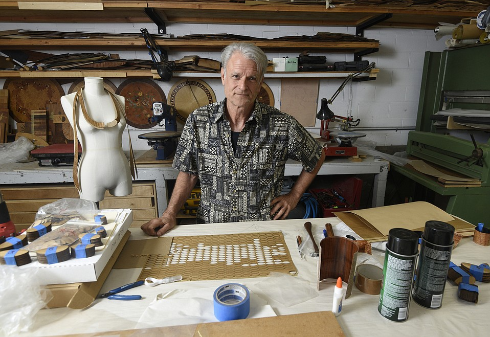 With a background making church organs from wood, Paul Schürch says he has a unique connection to the dynamic material.