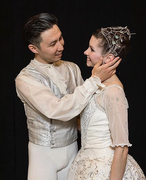 Yassaui Mergaliyev and Deise Mendonça