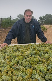 Rick Grimm is tapping a unique slice of the Santa Ynez Valley with the cabernet sauvignon and sauvignon blanc he is growing for his Grimm's Bluff brand.