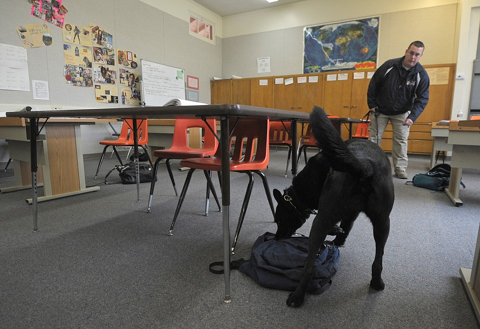 Administrators have called off the school district's controversial drug-dog program.