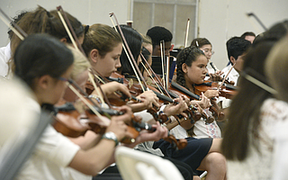 Students performed at the Page Youth Center on April 29.