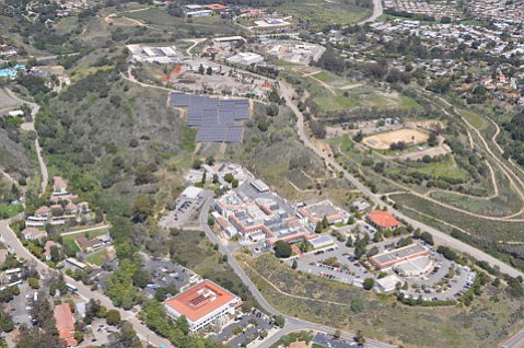Santa Barbara County's solar project on Calle Real generated more power than expected since being installed five years ago.