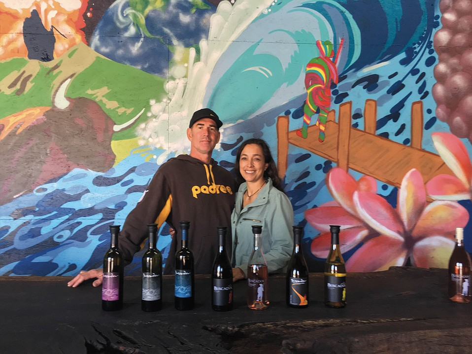 Buscador co-owners Matt Kowalczyk and Stephanie Lopez first tried their hand at winemaking in  New Zealand.