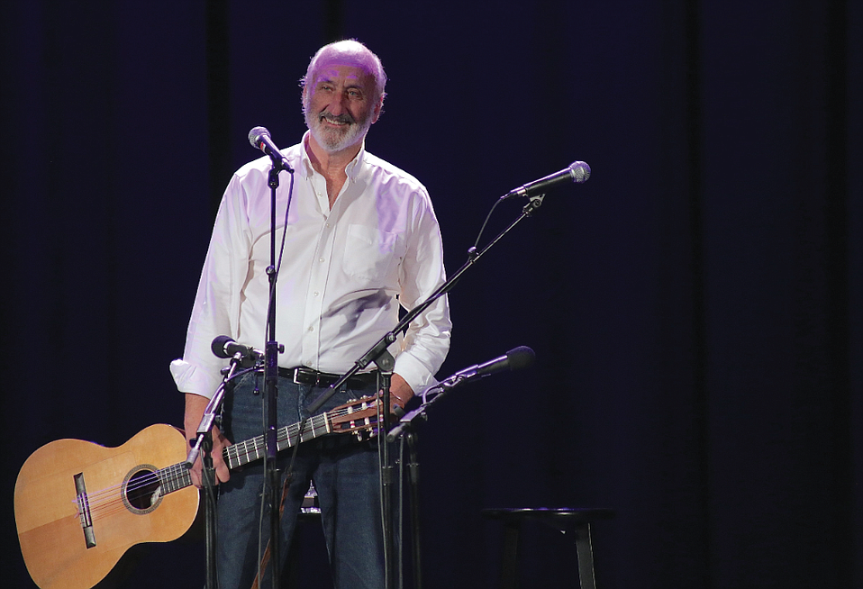 Noel Paul Stookey of Peter, Paul & Mary
