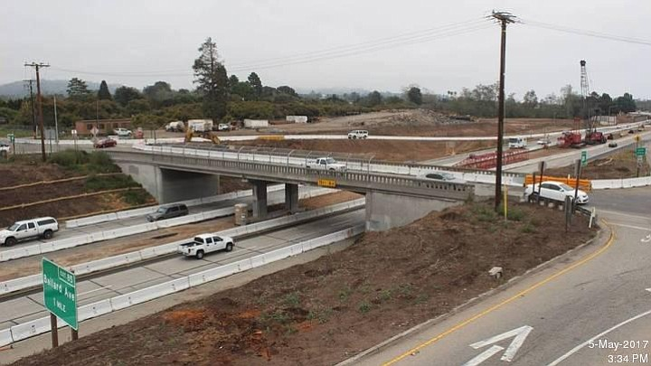 Casitas Pass Road Overcrossing