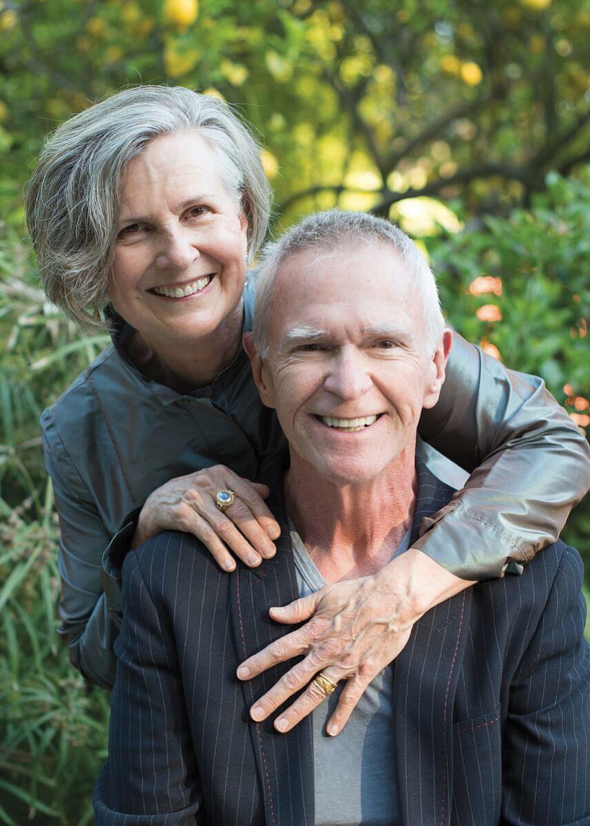 Gay (right) and Katie Hendricks