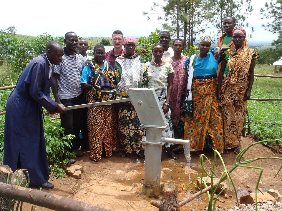S.B.'s Alex Haimanis founded Mission Tanzania to bring water to drought-stricken villagers.