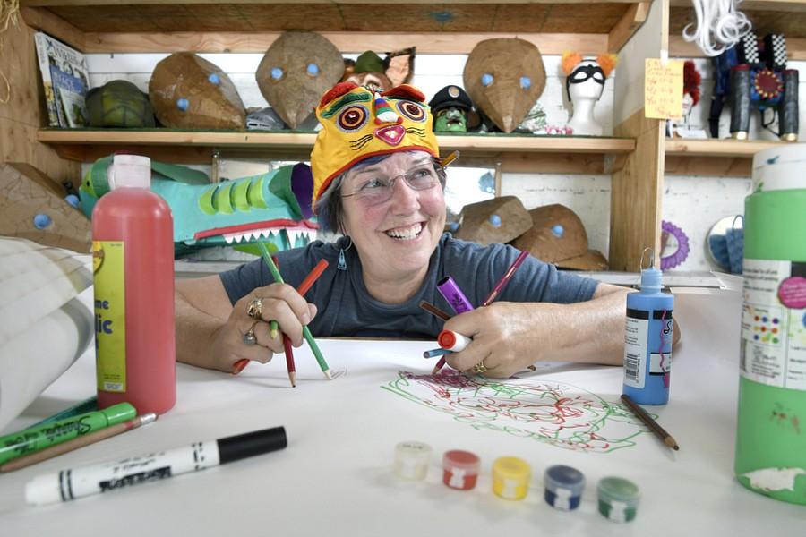 Dianne Arnold at the Solstice Workshop