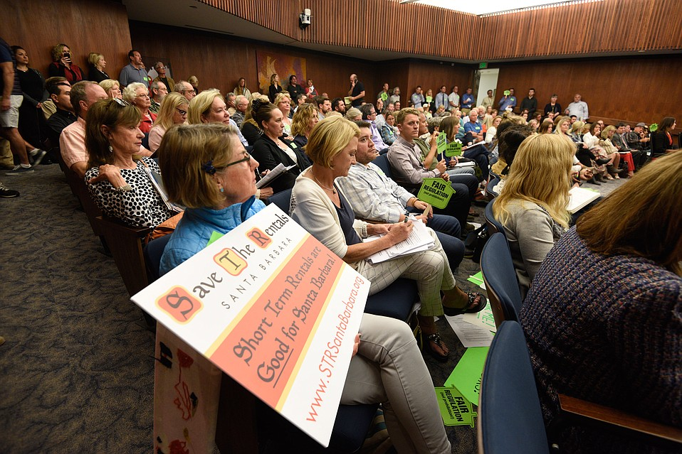 There was no shortage of interest as county supes passed a new measure regulating vacation rentals.
