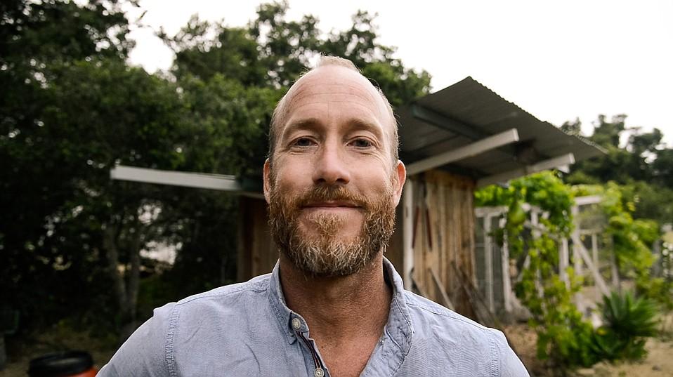 Builder and designer Alex Wyndham