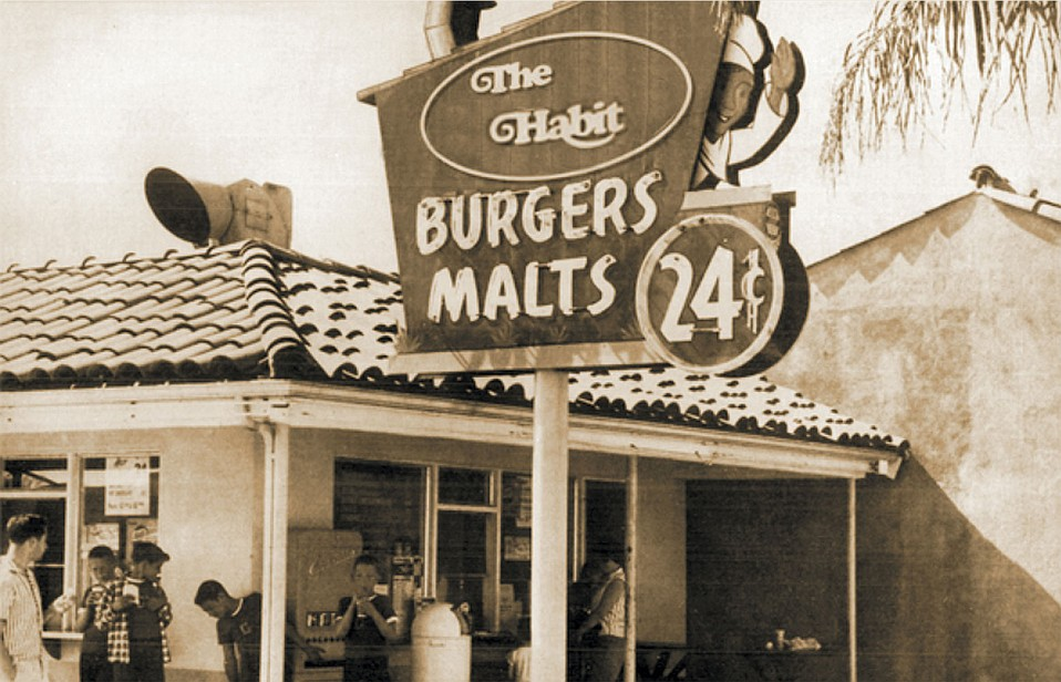 The very first Habit Burger Grill—originally called The Hamburger Habit—opened in Old Town Goleta in 1969.
