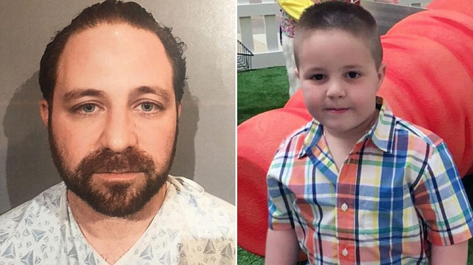 Aramazd Andressian has been charged with the murder of his five-year-old son.