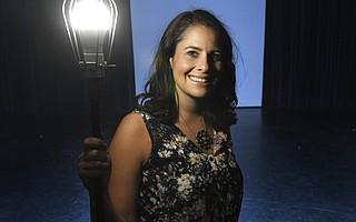 Samantha Eve at Center Stage Theatre