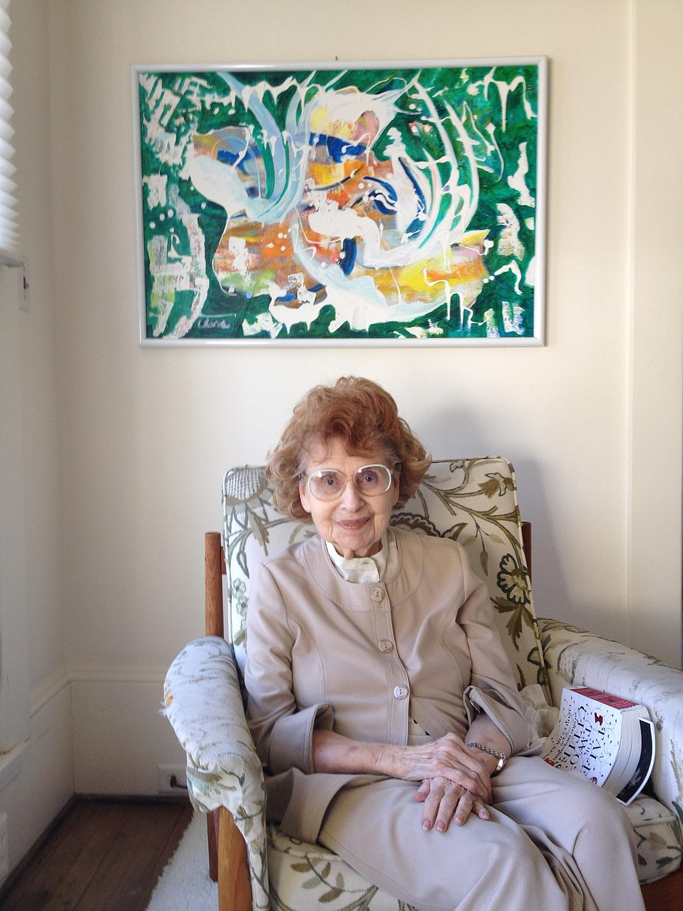 A longtime marriage and family therapist, Evelyn Gerlach was also a self-taught artist.