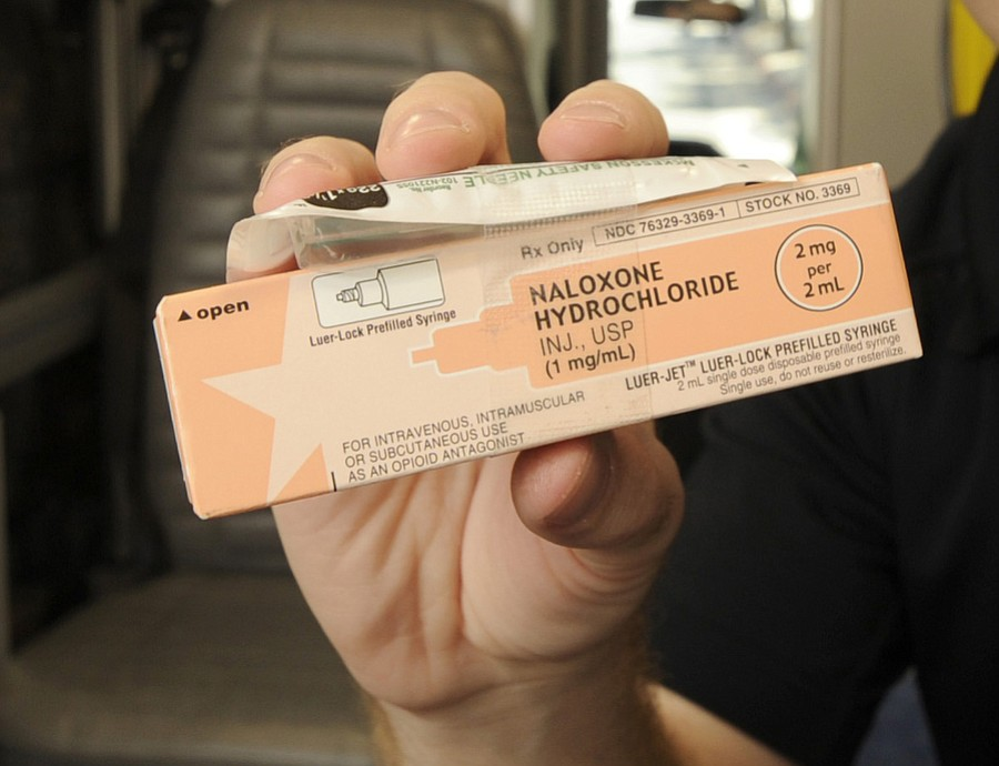 Santa Barbara Sheriff's deputies carry Naloxone Hydrochloride (also known as Narcan), a medication that can reverse the life-threatening effects of overdose from heroin or opioid painkillers.