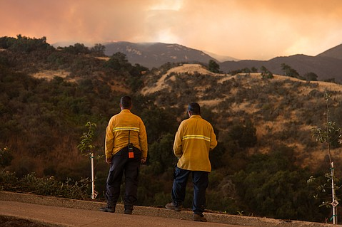 Whittier Fire In Santa Barbara County Grows To 17000 Acres