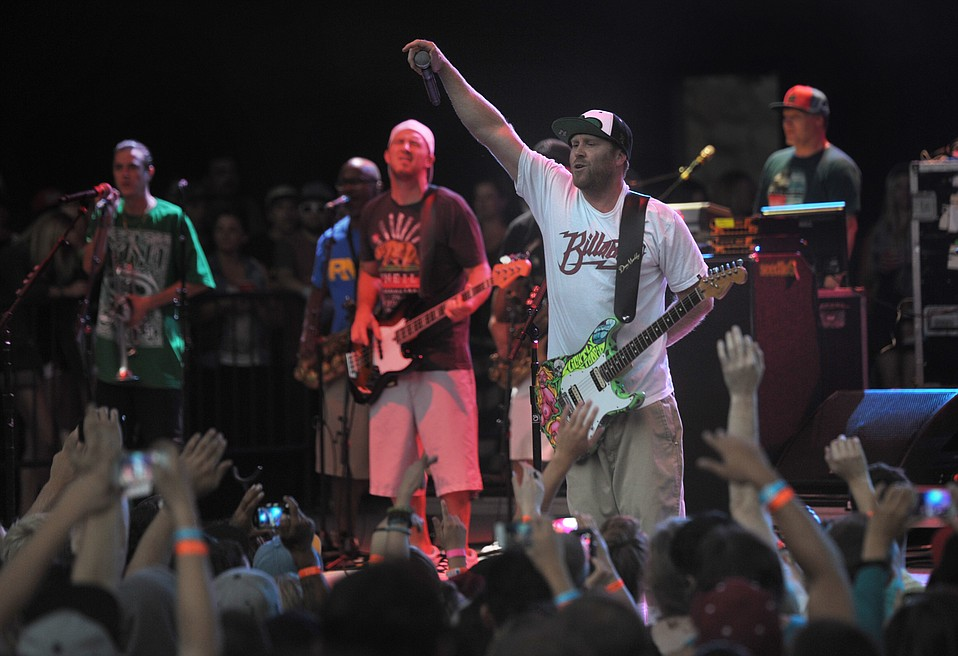 For nearly a decade, Slightly Stoopid (pictured at the Bowl in 2013) has come each summer to perform in S.B.'s beautiful amphitheater. This year is no different: The group, joined by Isla Vista–born band Iration, hits the stageJuly 23.