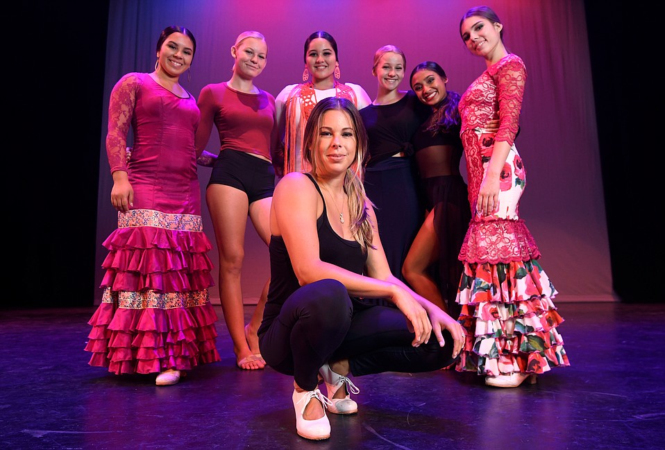 """I'm a teacher at heart,"" said Daniela Zermeño-Sanchez (center), shown here surrounded by some of her Zermeño Dance Academy students."