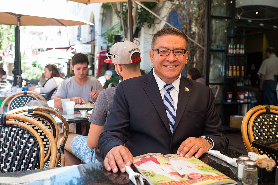 Rep. Salud Carbajal back from Washington, D.C.