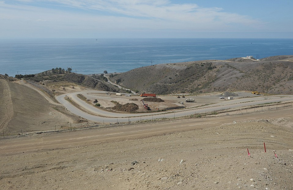 Tajiguas Landfill along Santa Barbara County's Gaviota Coast