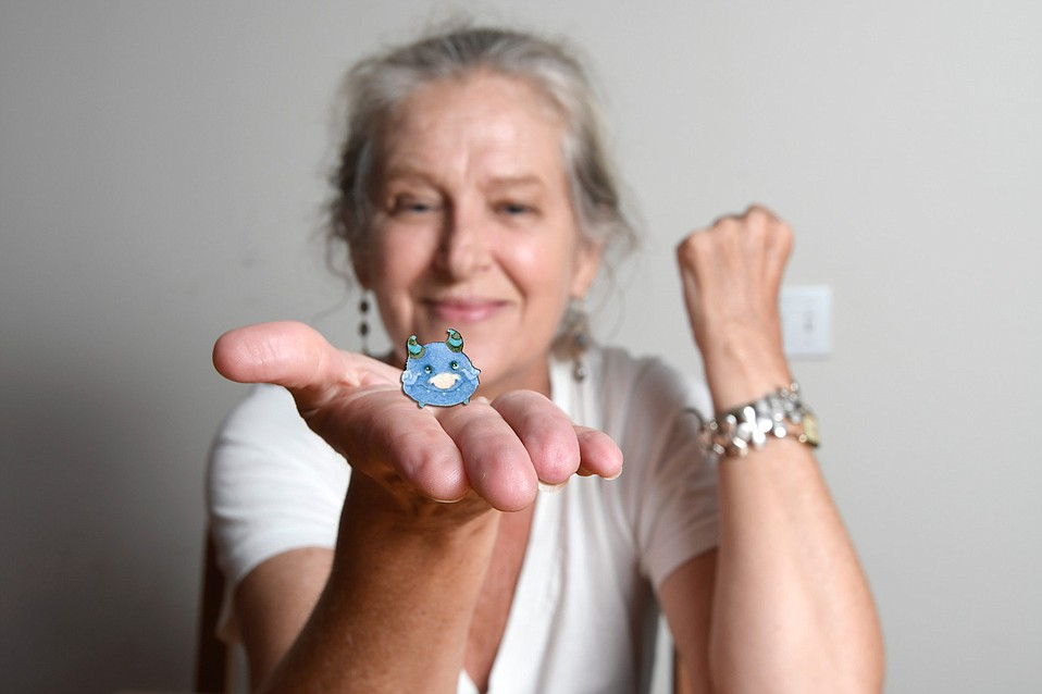 Cris Hamilton and her tiny monsters