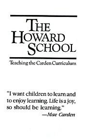 The Howard School prospectus circa 1984