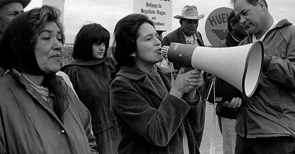 Workers' rights activist and Chicano Movement icon Dolores Huerta is the subject of a new documentary.