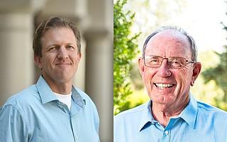 Eric Friedman (left) and Warner McGrew (right)