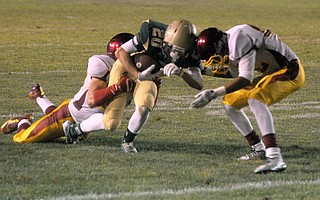Making the game safer has become a priority for football officials. Helmet-to-helmet contact is dangerous and against the rules. The Oxnard player who lowered his head against Santa Barbara High's Christopher Jellison in 2014 cost his team a 15-yard penalty.