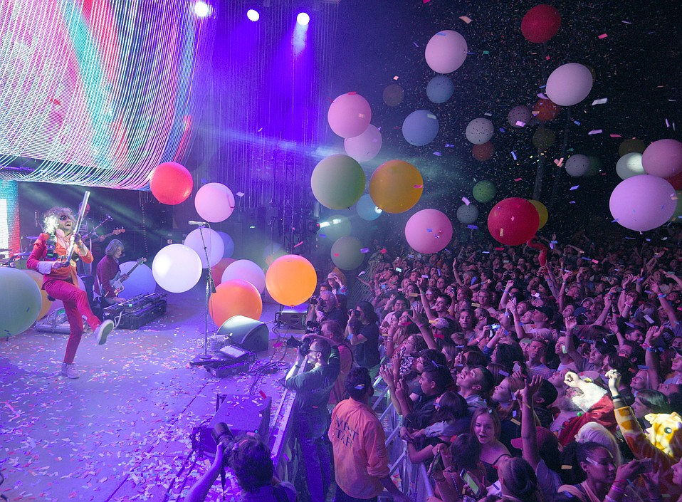 Flaming Lips at the Santa Barbara Bowl
