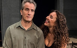 Douglas Dickerman and Emily Goglia in 'Husbands and Wives'